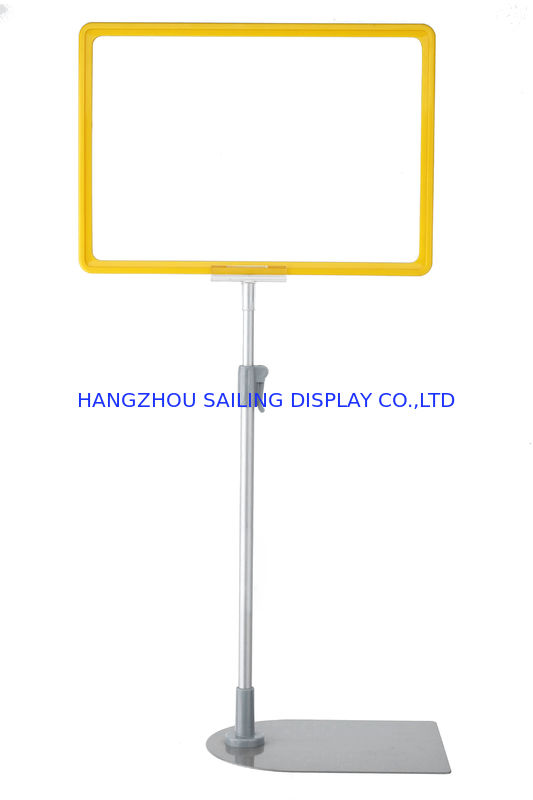 Blue A3 - A6 Floor Standing Frames / Floor Poster Stands for Sign تامین کننده